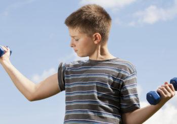 Vadba za moč za mladostnike? Da!